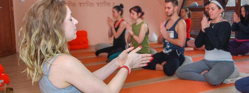 A jógaórák felépítése