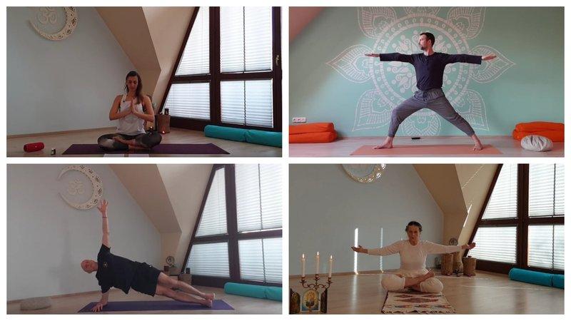 Online jógaórák ismét!